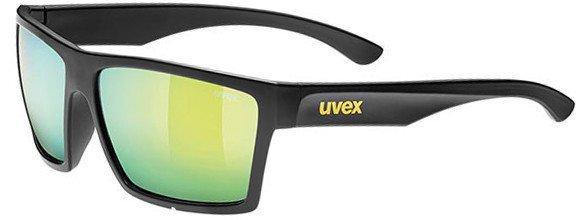 Okulary UVEX LGL 29 czarne mat, żółte szkła