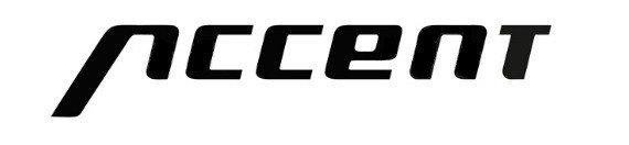 Podpórka rowerowa ACCENT Uni 2 24-28 regulowane mocowanie, czarna