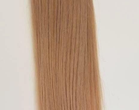 Zestaw włosów pod mikroringi, długość 40 cm kolor #14 - BURSZTYNOWY BLOND
