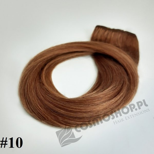Zestaw Clip-in, długość 25 cm kolor #12 - NATURALNY CIEMNY BLOND