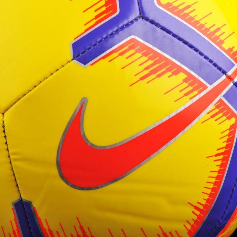 Piłka Nike Pitch SC3316 710 żółty 5