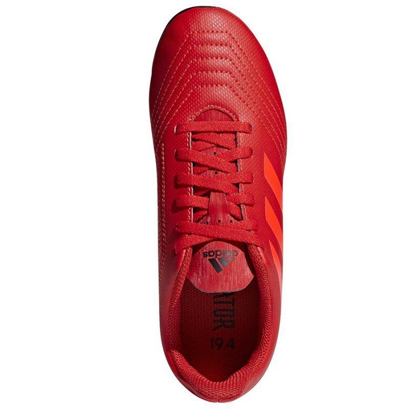 Buty adidas Predator 19.4 FxG J CM8541 czerwony 36 2/3