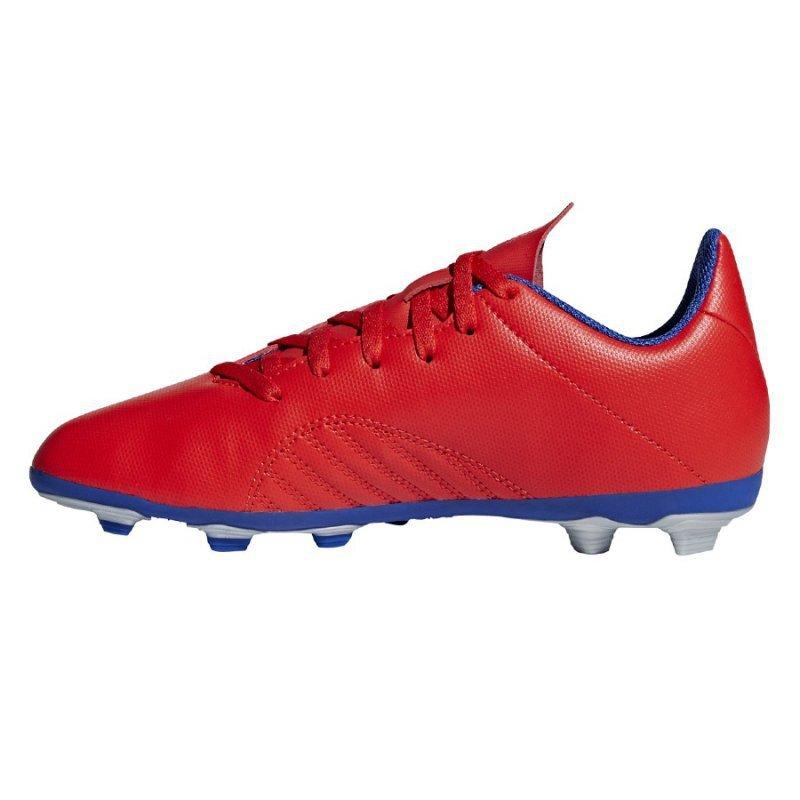 Buty adidas X 18.4 FXG J BB9379 czerwony 36 2/3