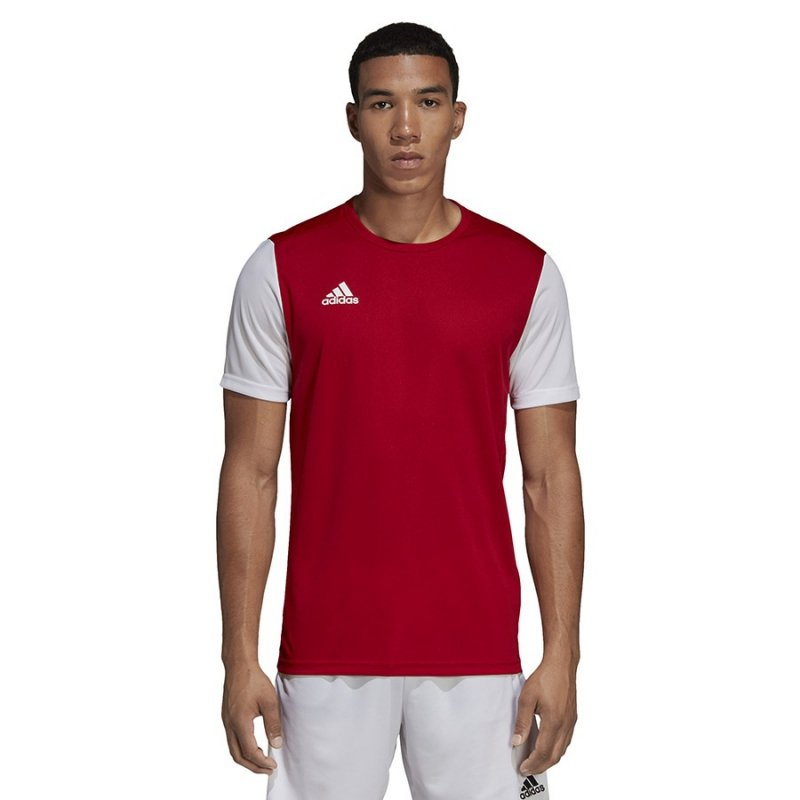 Koszulka adidas Estro 19 JSY DP3230 czerwony 140 cm