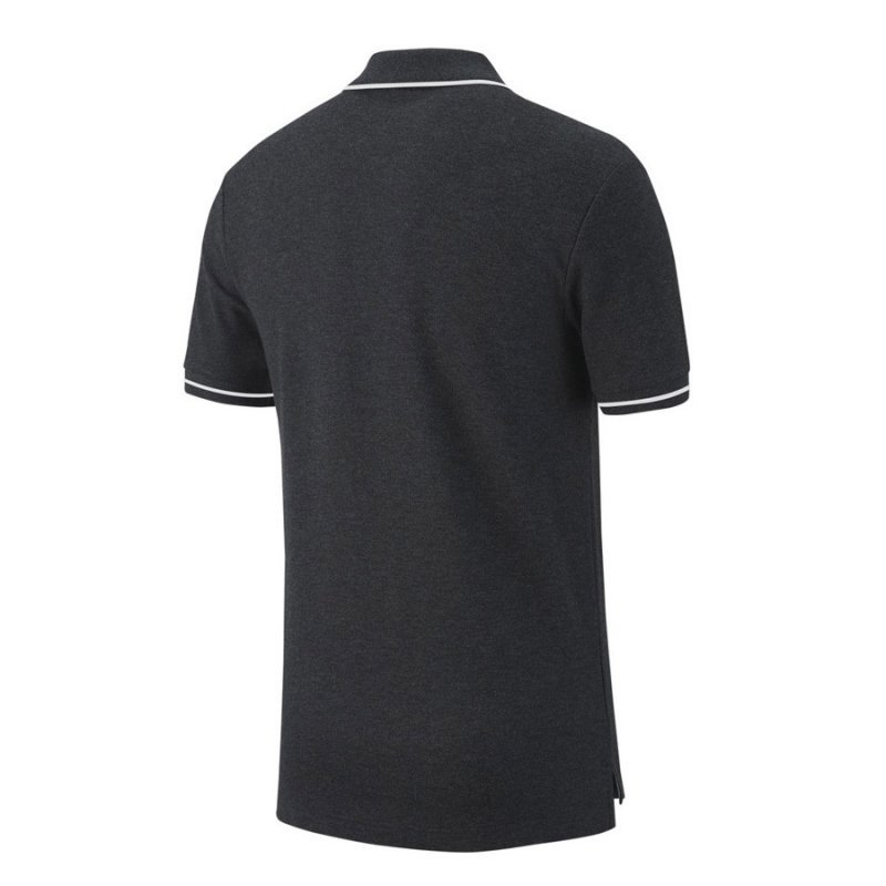 Koszulka Nike Polo Y Team Club 19 AJ1546 071 szary XS (122-128cm)