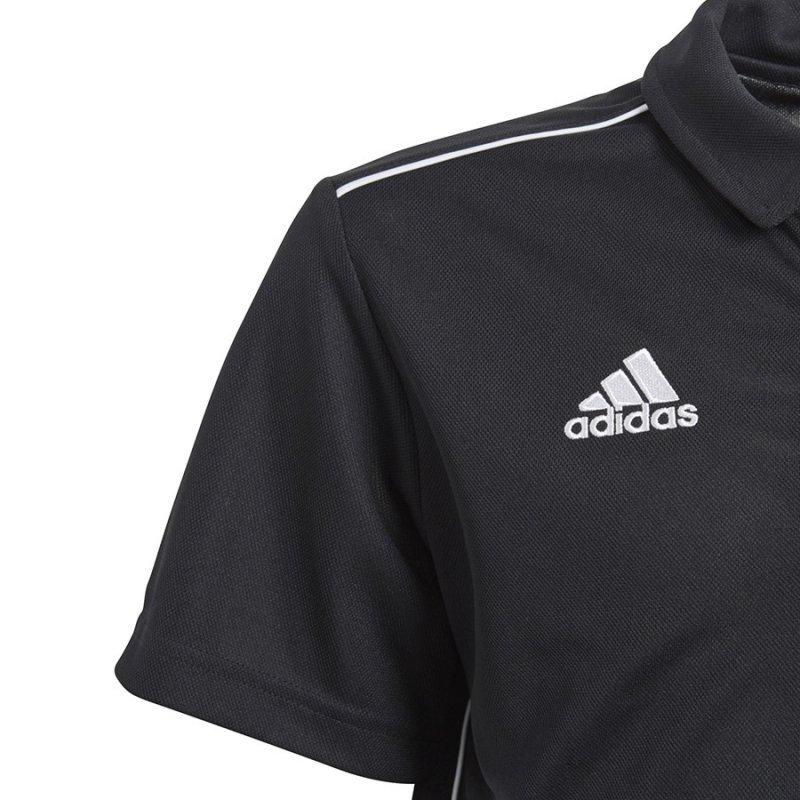 Koszulka adidas Polo Core 18 Y CE9038 czarny 164 cm