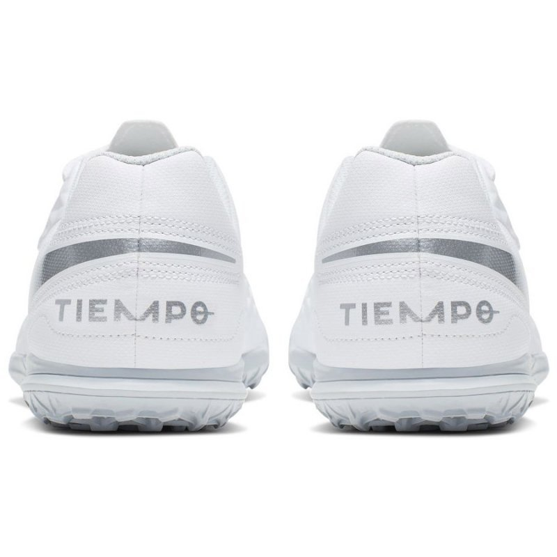Buty Nike JR Tiempo Legend 8 Club TF AT5883 100 biały 36