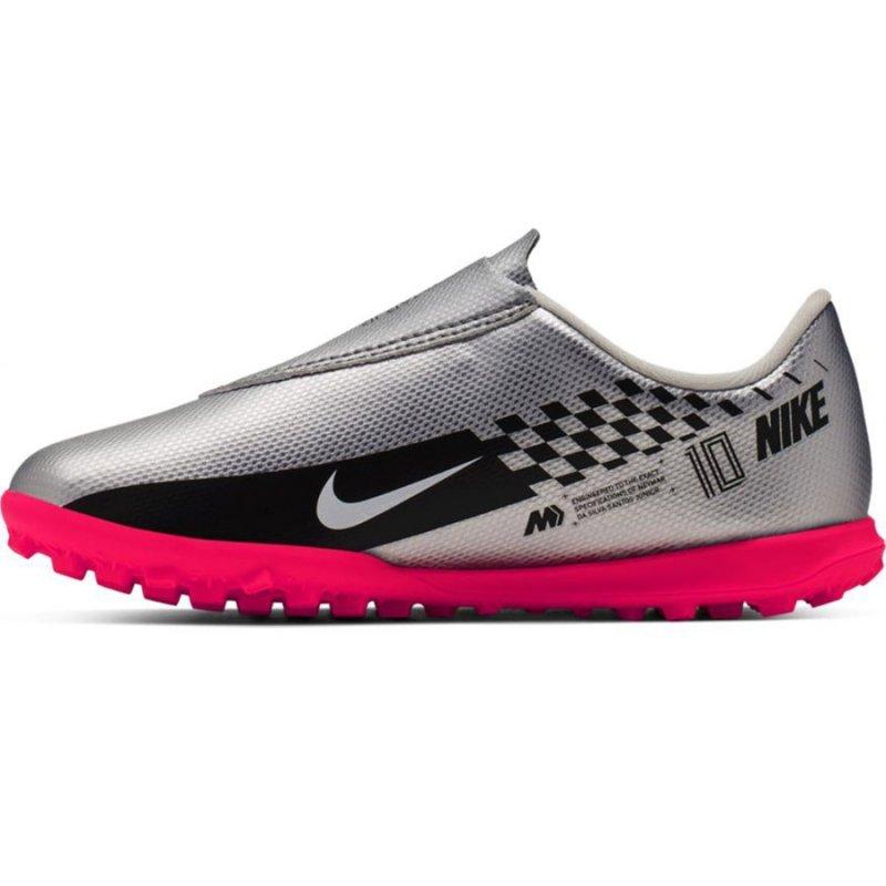 Buty Nike JR Mercurial Vapor 13 Club TF Neymar AT8176 006 szary 28 1/2