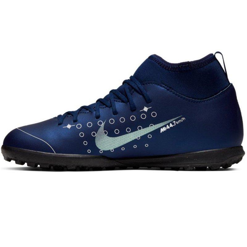 Buty Nike JR Mercurial Superfly 7 Club MDS TF BQ5416 401 niebieski 32