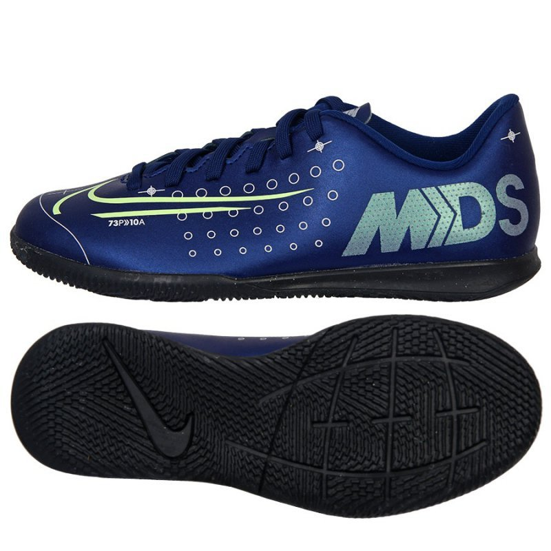 Buty Nike JR Mercurial Vapor 13 Club MDS IC CJ1174 401 niebieski 38