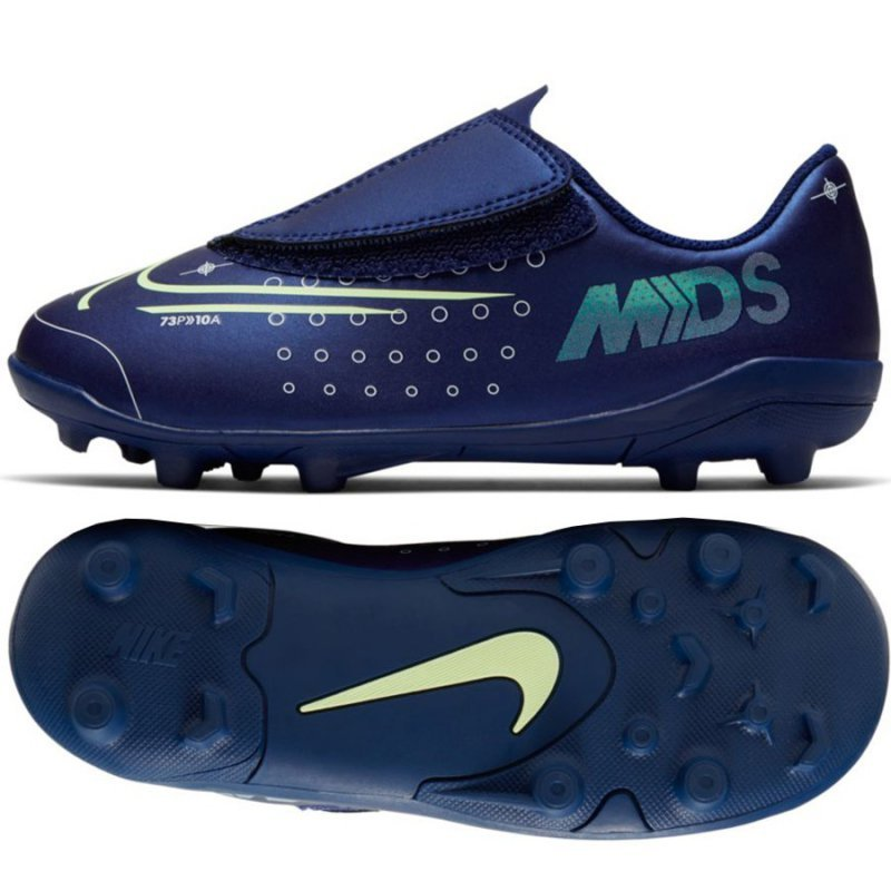 Buty Nike JNR Mercurial Vapor 13 Club MDS MG PS (V) CJ1149 401 niebieski 26