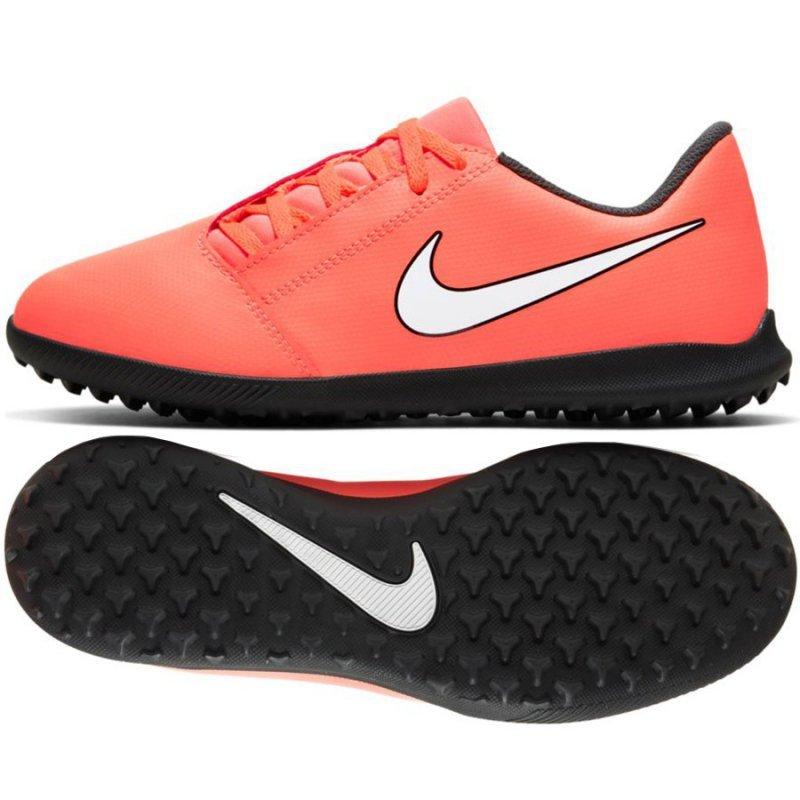 Buty Nike JR Phantom Venom Club TF AO0400 810 pomarańczowy 35 1/2