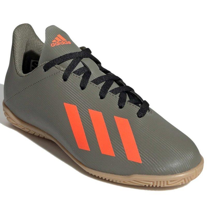 Buty adidas X 19.4 IN J EF8379 zielony 38 2/3