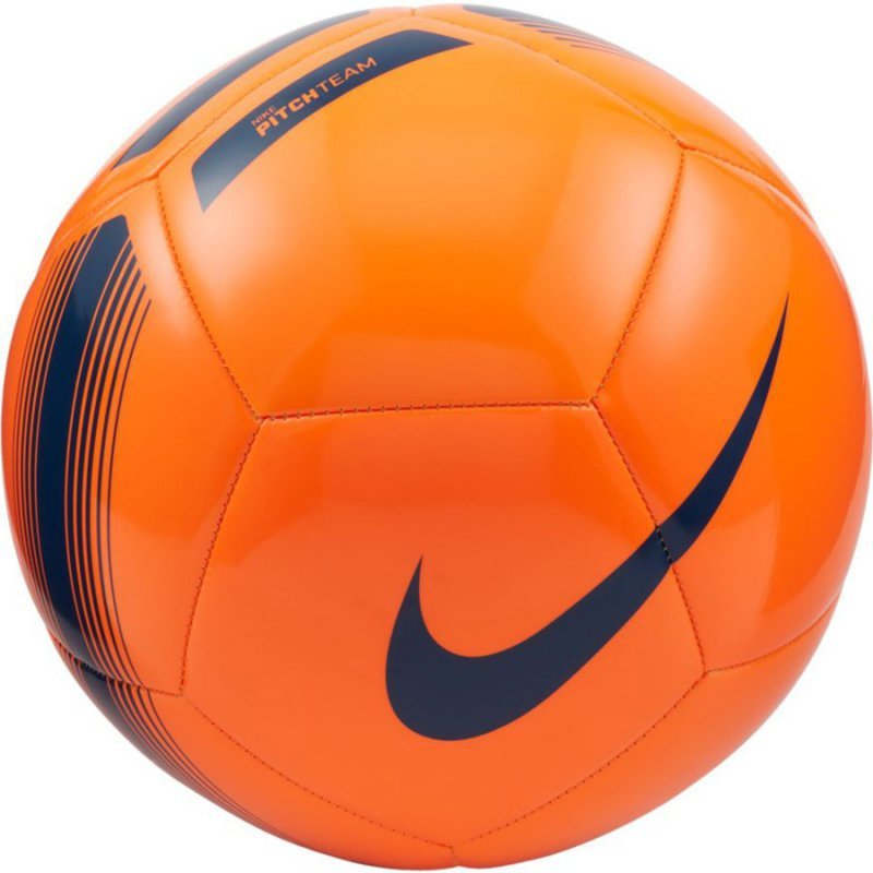 Piłka Nike Pitch Team SC3992 803 pomarańczowy 5