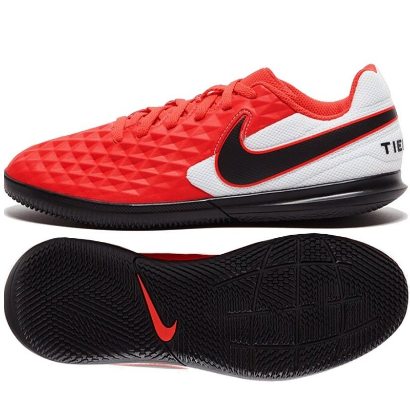Buty Nike JR Tiempo Legend 8 Club IC AT5882 606 czerwony 38