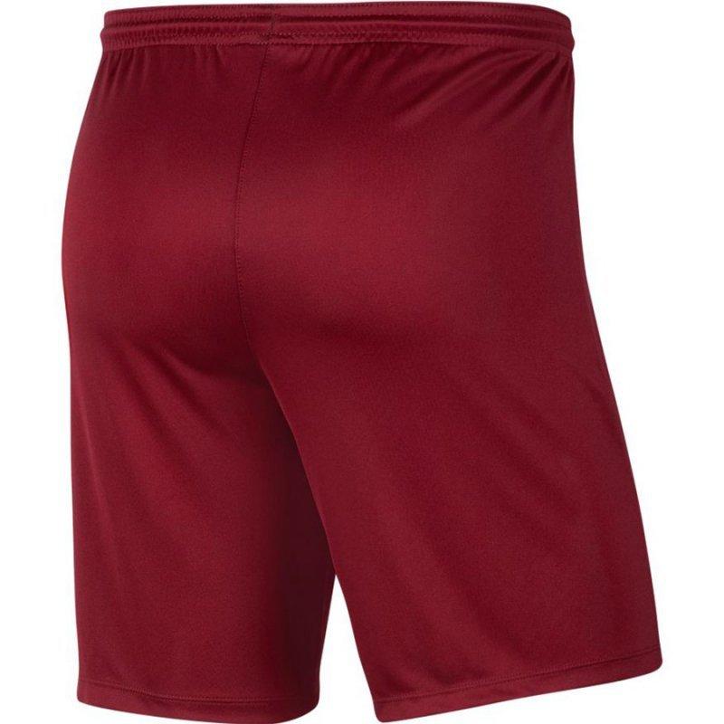 Spodenki Nike Park III BV6855 677 czerwony XL