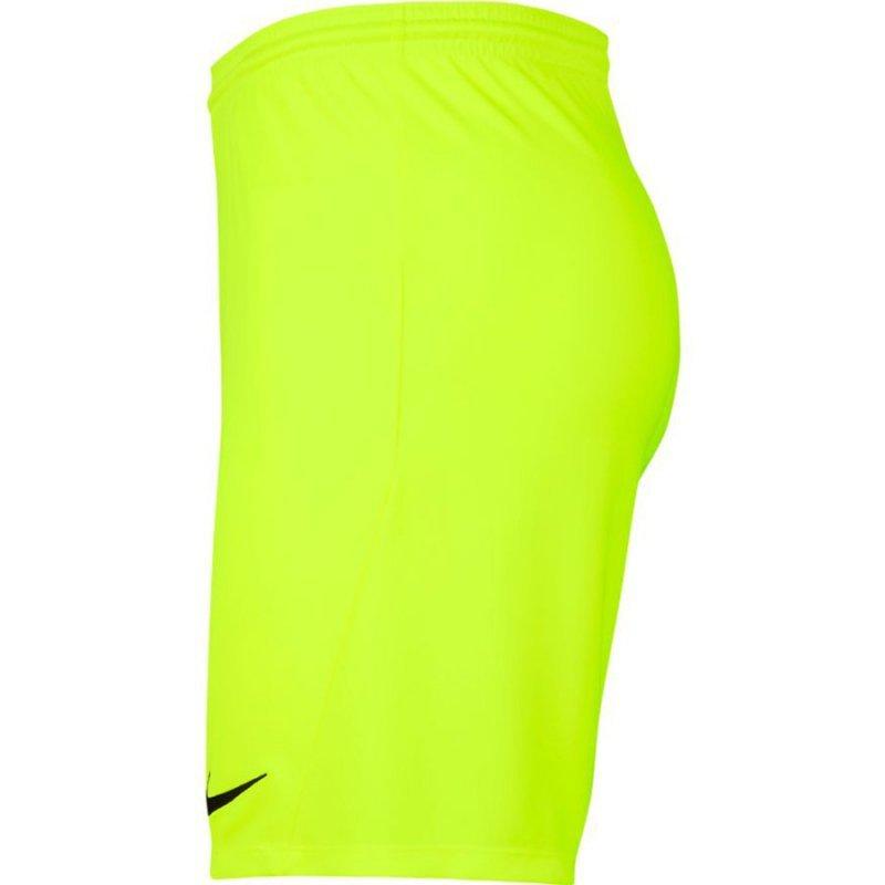 Spodenki Nike Park III BV6855 702 żółty M