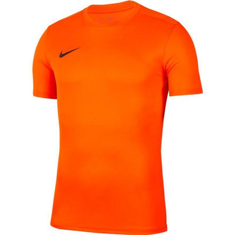 Koszulka Nike Park VII Boys BV6741 819 pomarańczowy S (128-137cm)