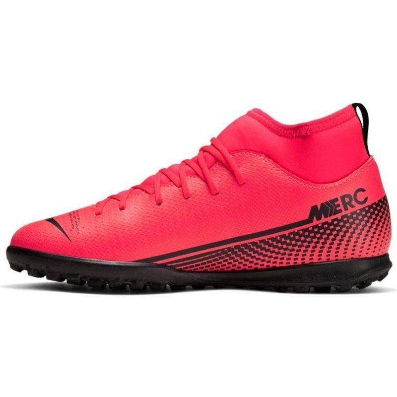 Buty Nike JR Mercurial Superfly 7 Club TF AT8156 606 czerwony 37 1/2