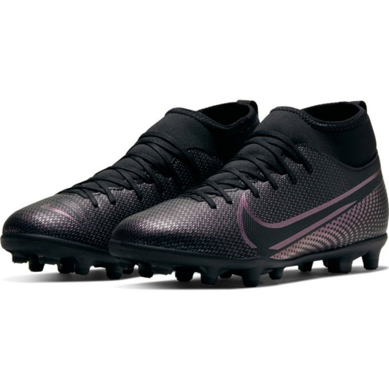 Buty Nike JR Mercurial Superfly 7 Club FG/MG AT8150 010 czarny 33