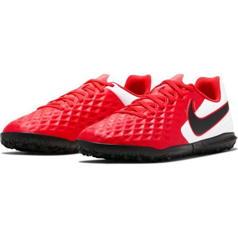 Buty Nike JR Tiempo Legend 8 Club IC AT5883 606 czerwony 37 1/2