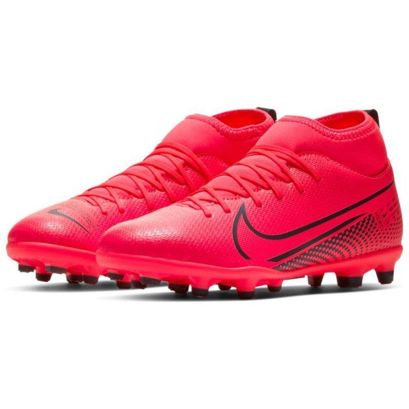 Buty Nike JR Mercurial Superfly 7 Club FG/MG AT8150 606 czerwony 38