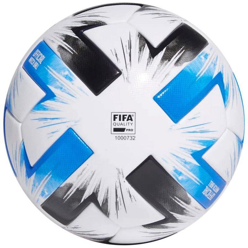 Piłka adidas Tsubasa PRO FR8367 biały 5