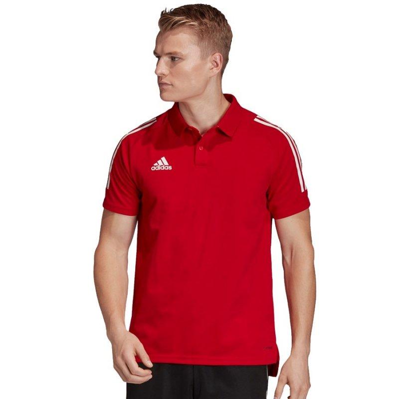 Koszulka adidas Polo Condivo 20 ED9235 czerwony L