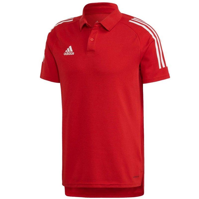 Koszulka adidas Polo Condivo 20 ED9235 czerwony XL