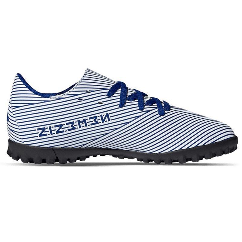 Buty adidas Nemeziz 19.4 TF J FV3313 biały 37 1/3