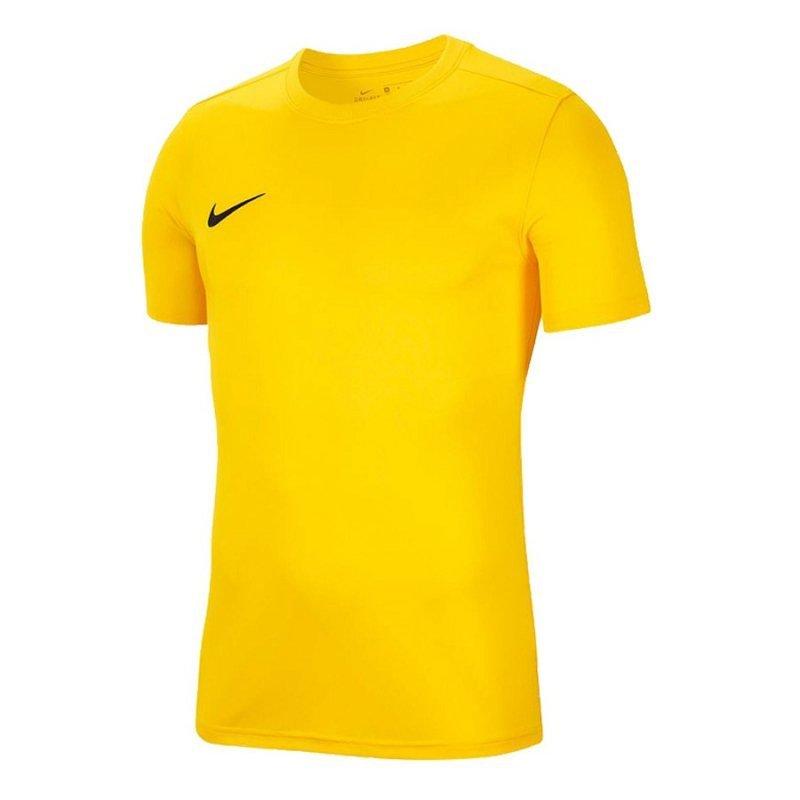 Koszulka Nike Park VII Boys BV6741 719 żółty S (128-137cm)