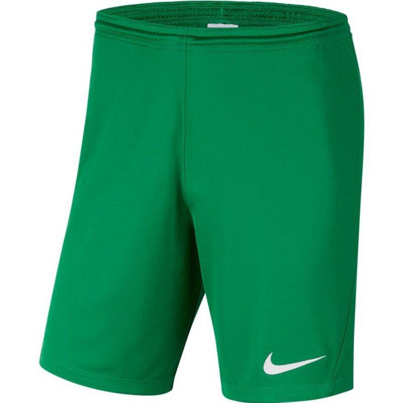 Spodenki Nike Y Park III Boys BV6865 302 zielony XS (122-128cm)
