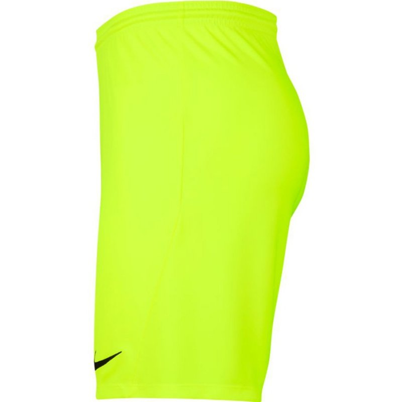 Spodenki Nike Y Park III Boys BV6865 702 żółty S (128-137cm)