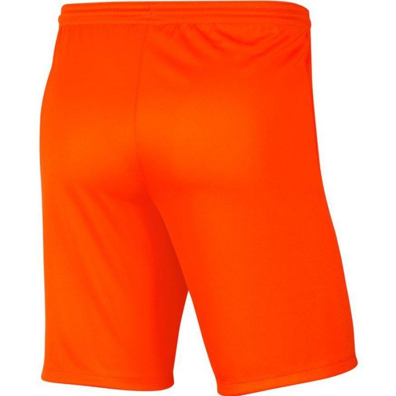 Spodenki Nike Park III BV6855 819 pomarańczowy XL