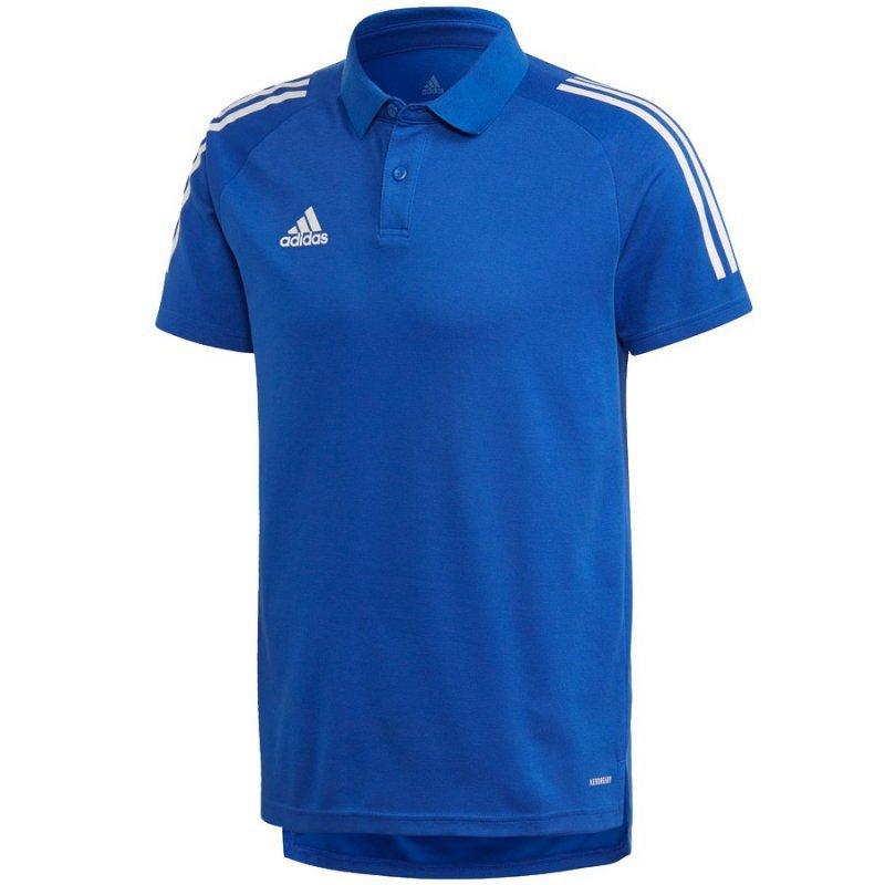 Koszulka adidas Polo Condivo 20 ED9237 niebieski S