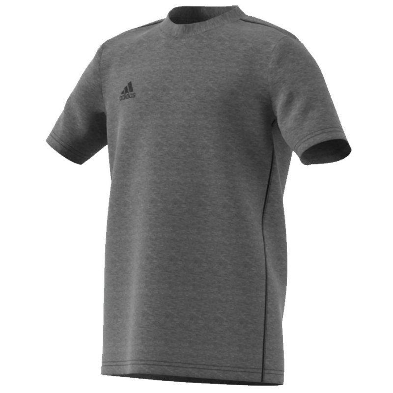 Koszulka adidas Core 18 Tee Y FS3250 szary 140 cm