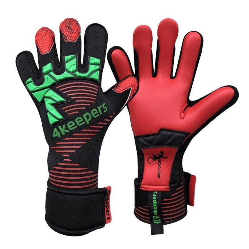 Rękawice 4keepers Gecko Goggia MNC + płyn czyszczący czarny 6