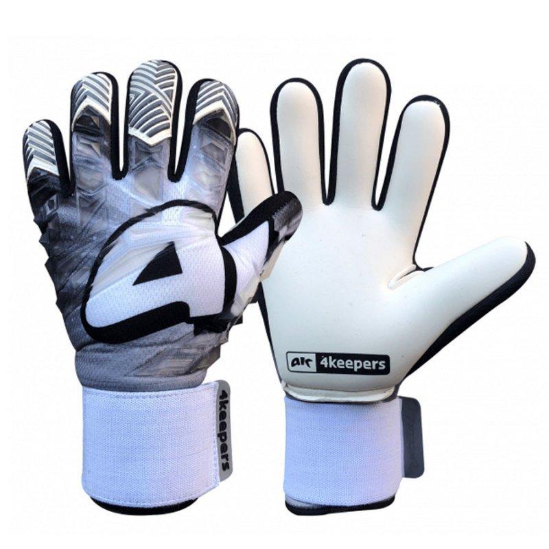 Rękawice 4keepers Evo Gris NC biały 9