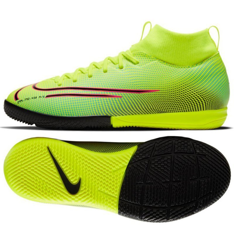 Buty Nike JR Mercurial Superfly Academy MDS IC BQ5529 703 żółty 33