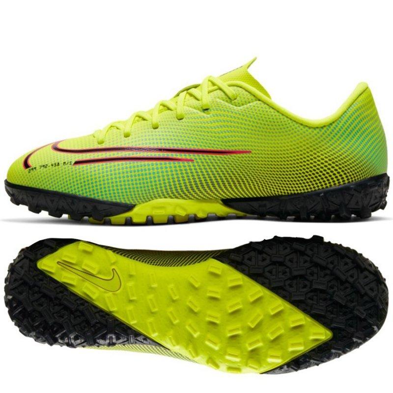 Buty Nike JR Mercurial Vapor 13 Academy MDS TF CJ1178 703 żółty 36 1/2