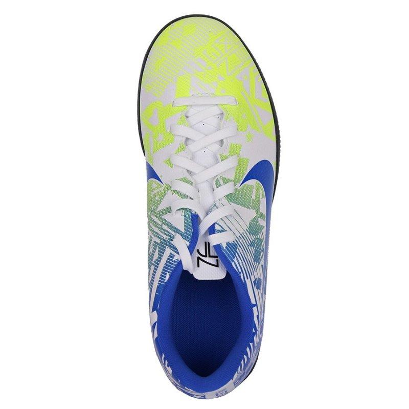 Buty Nike JR Vapor 13 Club Neymar IC CV9352 104 biały 32
