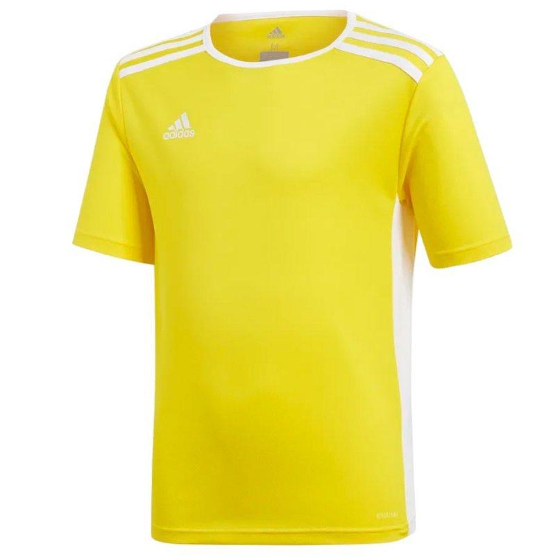 Koszulka adidas Entrada 18 JSY Y CF1039 żółty 128 cm