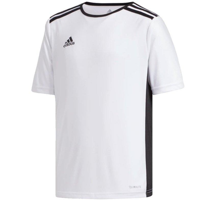 Koszulka adidas Entrada 18 JSY Y CF1044 biały 128 cm