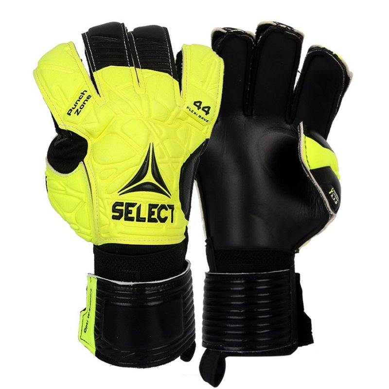 Rękawice bramkarskie Select 44 Flexi Save biały 10