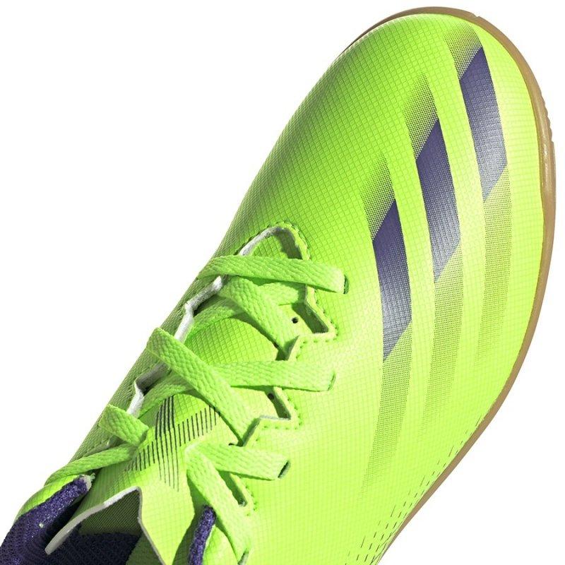 Buty adidas X Ghosted.4 IN J EG8233 zielony 31