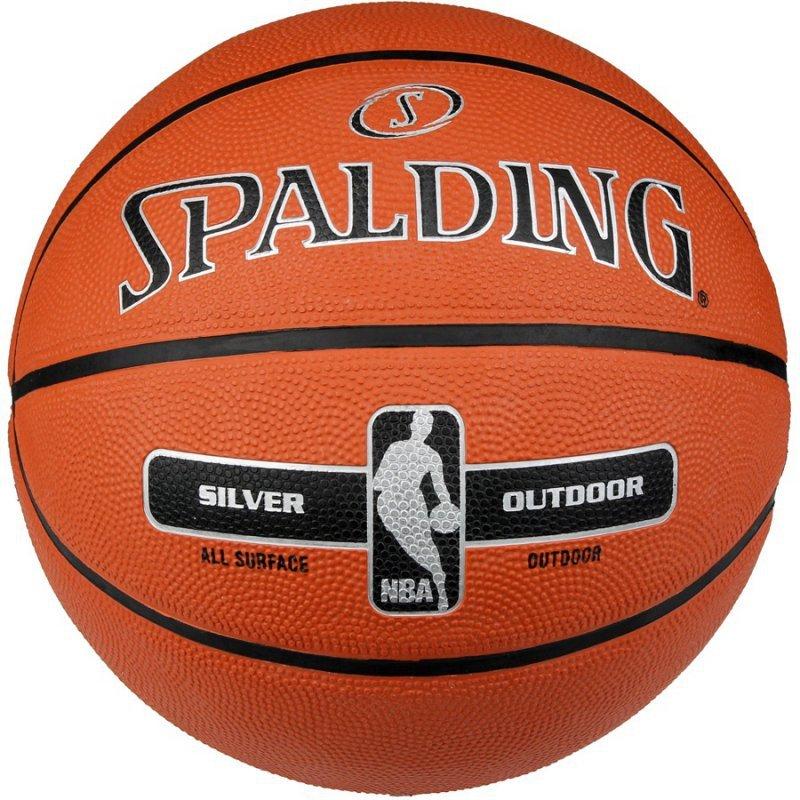 Piłka Spalding NBA Silver 6 brązowy