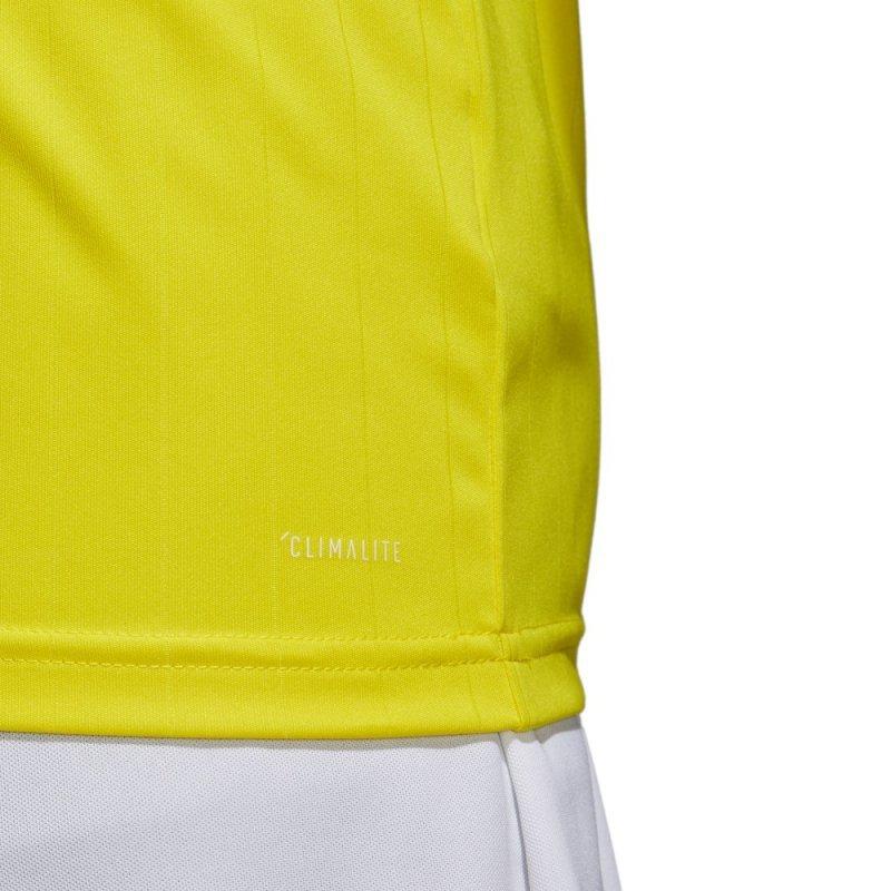 Koszulka adidas Tabela 18 JSY CE8941 żółty 164 cm