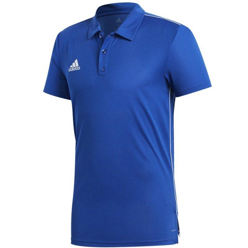 Koszulka adidas Polo Core 18 CV3590 niebieski XXXL
