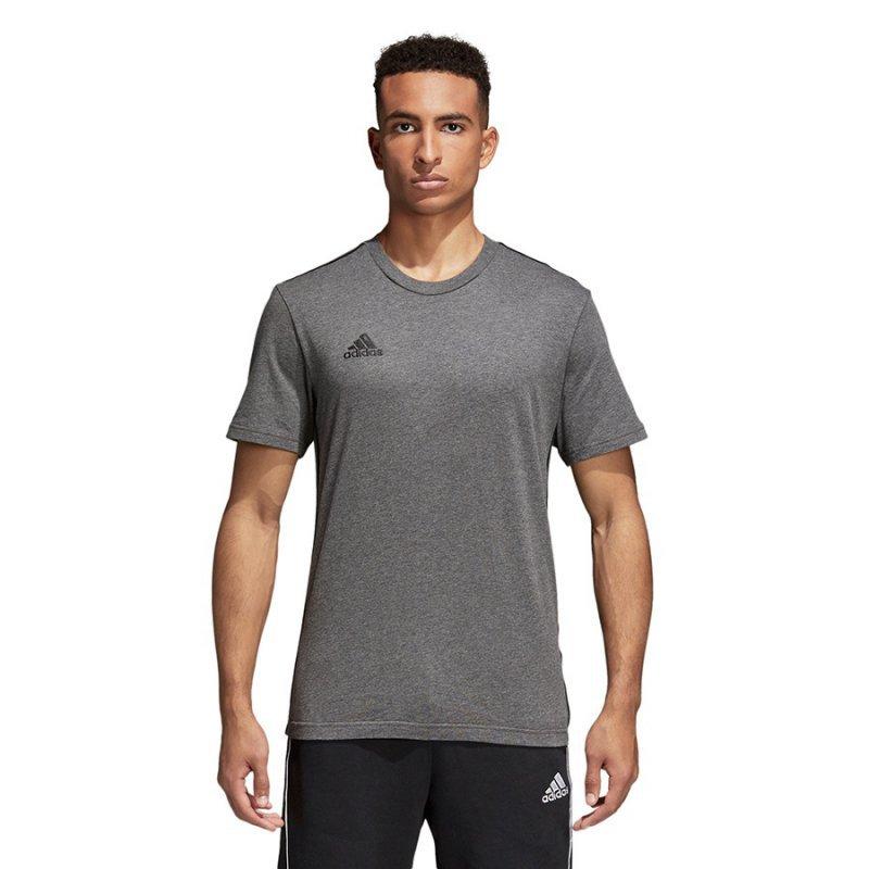 Koszulka adidas Core 18 Tee CV3983 szary L