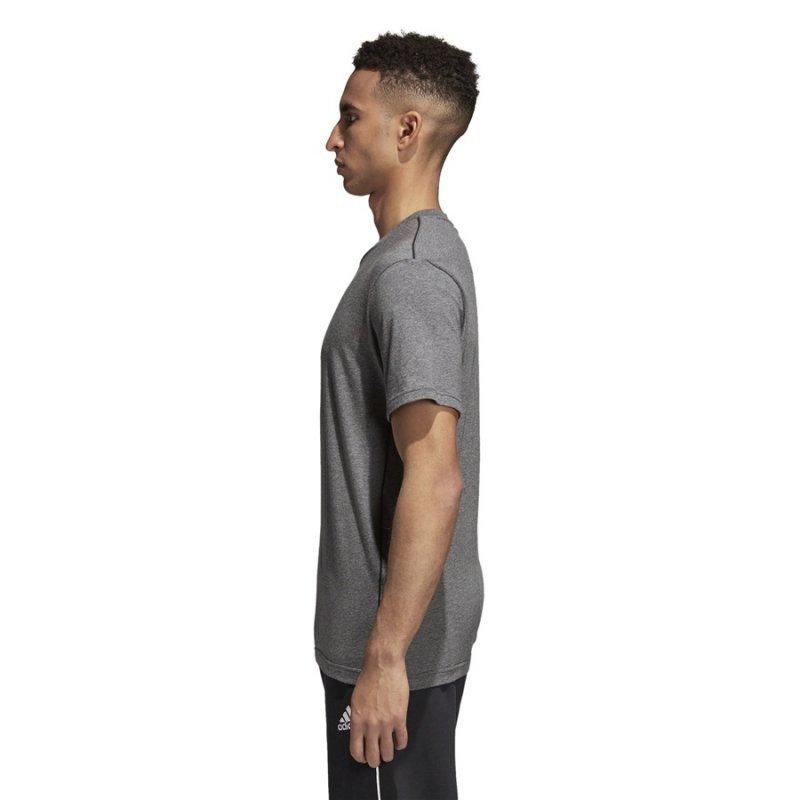 Koszulka adidas Core 18 Tee CV3983 szary XXL